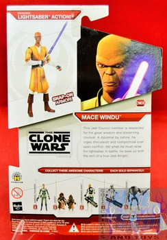 Star Wars The Clone Wars CW06 Mace Windu