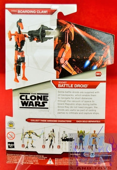 Star Wars The Clone Wars CW03 Rocket Battle Droid