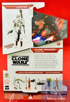 Star Wars The Clone Wars CW02 Clone Trooper