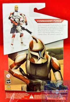 Star Wars The Clone Wars Commander Ponds