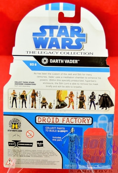 The Legacy Collection The Clone Wars BD8 Darth Vader