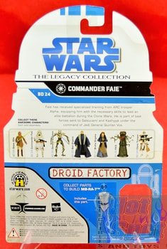 The Legacy Collection The Clone Wars BD24 Commander Faie