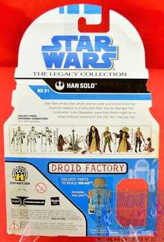 The Legacy Collection The Clone Wars BD31 Han Solo