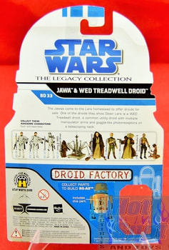 The Legacy Collection The Clone Wars BD33 Jawa & Wed Treadwell Droid