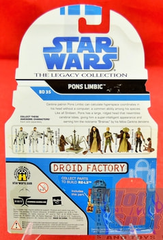 The Legacy Collection The Clone Wars BD35 Pons Limbic
