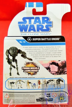 The Clone Wars No.12 Super Battle Droid