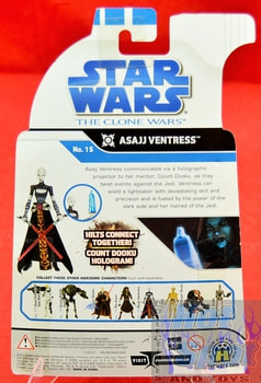 The Clone Wars No.15 Asajj Ventress