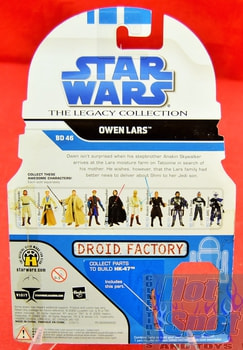 The Legacy Collection The Clone Wars BD46 Owen Lars