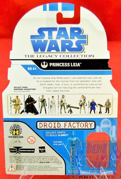 The Legacy Collection The Clone Wars BD41 Princess Leia