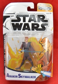 Clone Wars Animated Anakin Skywalker