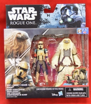 Rogue One Scarif Trooper Squad Leader Moroff 2 pack