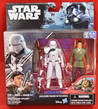 Rogue One Snowtrooper officer Poe Dameron 2 Pack