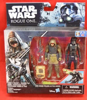 Rogue One Rebel Commando Pao Death Trooper 2 pack
