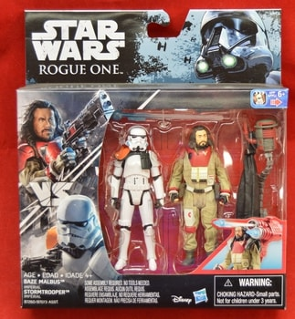 Rogue One Baze Malbus StormTrooper 2 Pack