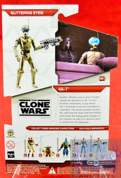 Star Wars The Clone Wars CW13 4A-7