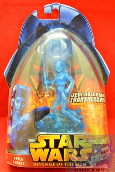 Revenge of the Sith Holographic Aayla Secura Figure
