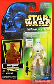 Green Card Snowtrooper Action Figure