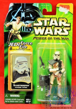 POTJ Sandtrooper Action Figure