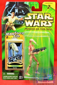 POTJ Battle Droid Action Figure