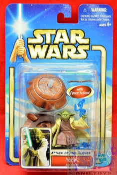 Attack of the Clones Yoda Action Figure
