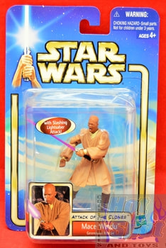 Attack of the Clones Mace Windu Action Figure