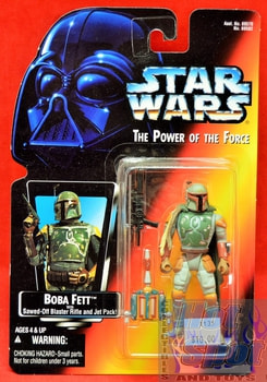 Red Card Boba Fett Action Full Circle Figure
