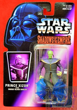 Shadows of the Empire Prince Xizor Action Figure