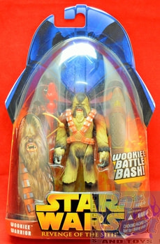 Revenge of the Sith Wookie Warrior Action Figure