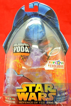 Revenge of the Sith Holographic Yoda Action Figure