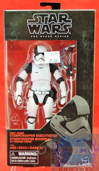 The Black Series First Order Stormtrooper Executioner Action Figure
