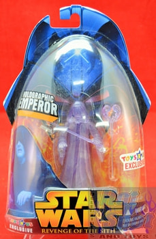 Revenge of the Sith Holographic Emperor Palpatine Action Figure