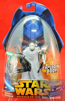 Revenge of the Sith General Grievous Action Figure (Exploding Body)