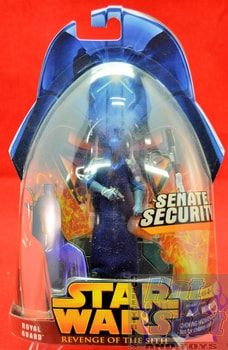 Revenge of the Sith Royal Guard Action Figure (Blue)