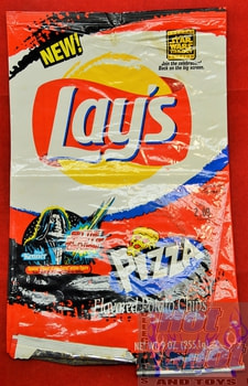 Lays Pizza Flavor Potato Chips Star Wars Trilogy Bag