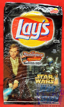 Lays KC Masterpiece Barbecue Potato Chip Star Wars Episode 2 Bag