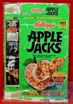 Apple Jacks Star Wars Cereal Box