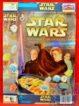 Staw Wars Episode II Cereal Box Collector's Edition #2