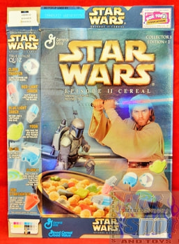 Staw Wars Episode II Cereal Box Collector's Edition #1