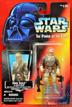 Red Card Han Solo Closed Hand