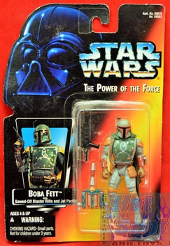 Red Card Boba Fett Closed Hands