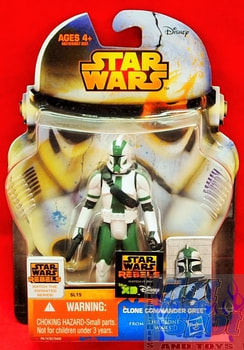 Rebels Clone Commander Gree Figure SL15