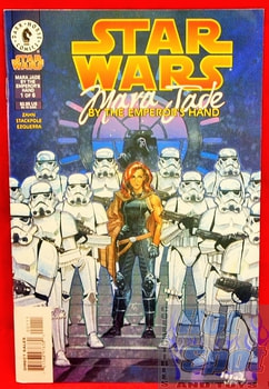 Star Wars Mara Jade by the Emperor's Hand Comic Book