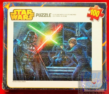 Vader and Luke Puzzle