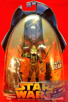 Revenge of the Sith Commander Gree