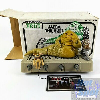 1983 Jabba's Throne Room Playset Parts
