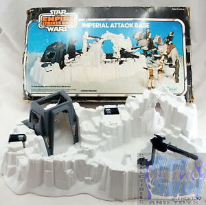 1980 Hoth Imperial Attack Base Parts
