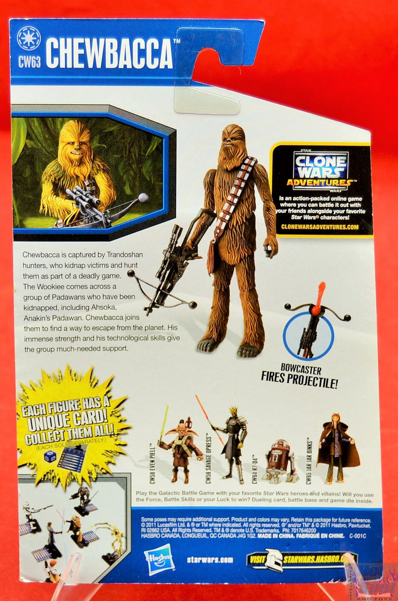 Star Wars Black Series Classic Chewbacca avec Bowcaster figure MOC!