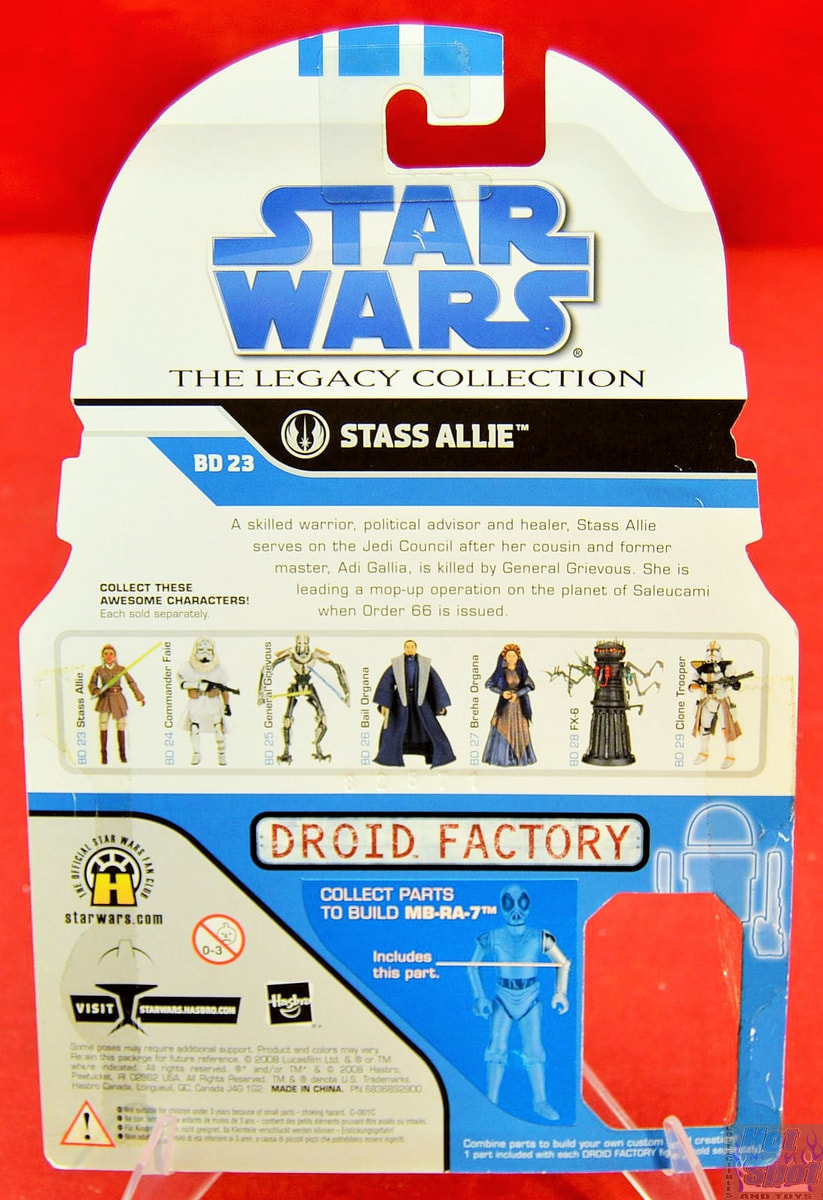 Stass Allie 2009 STAR WARS Legacy Collection MOC BD23 No.23