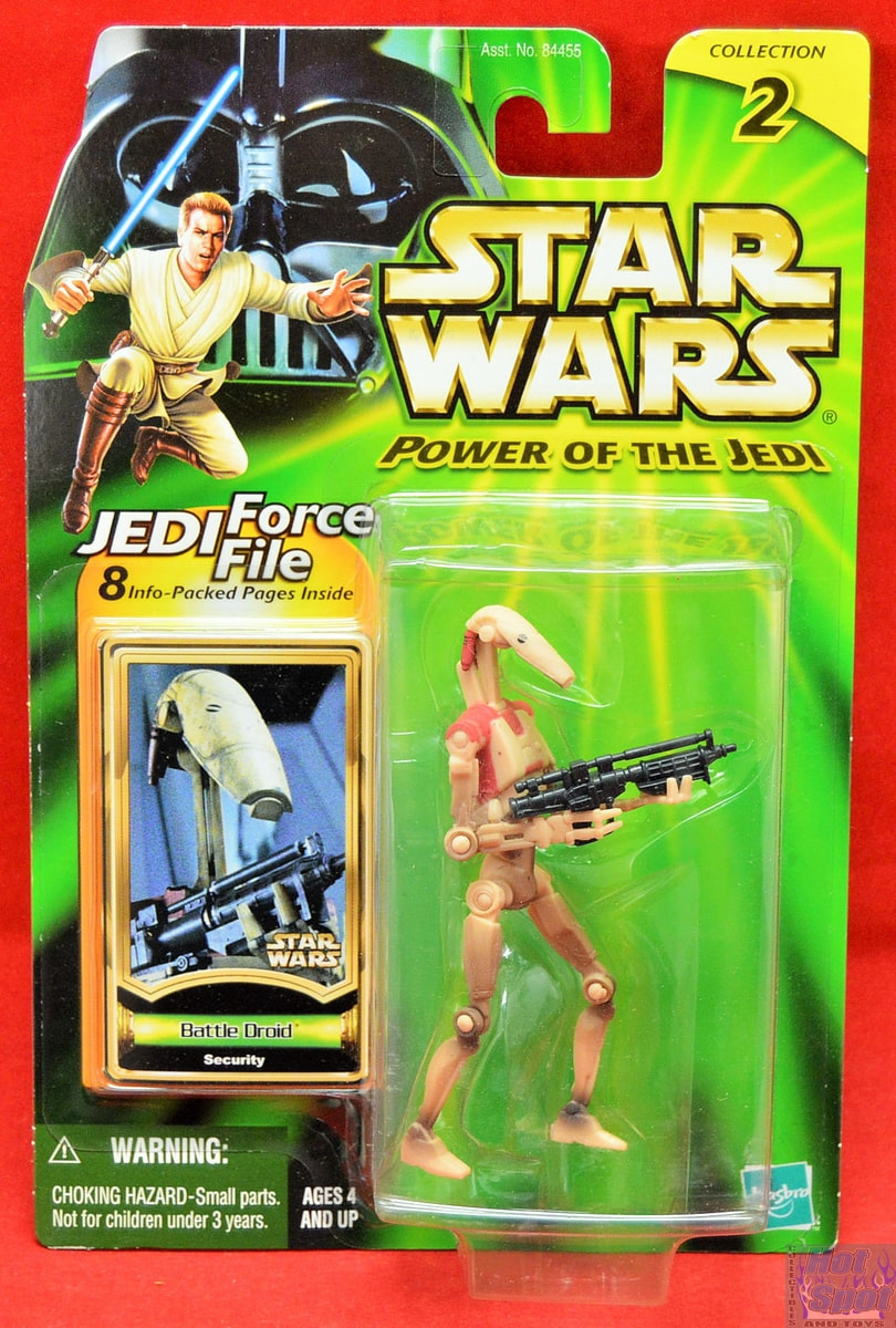 Battle Droid Security Star Wars Power Of The Jedi 2000