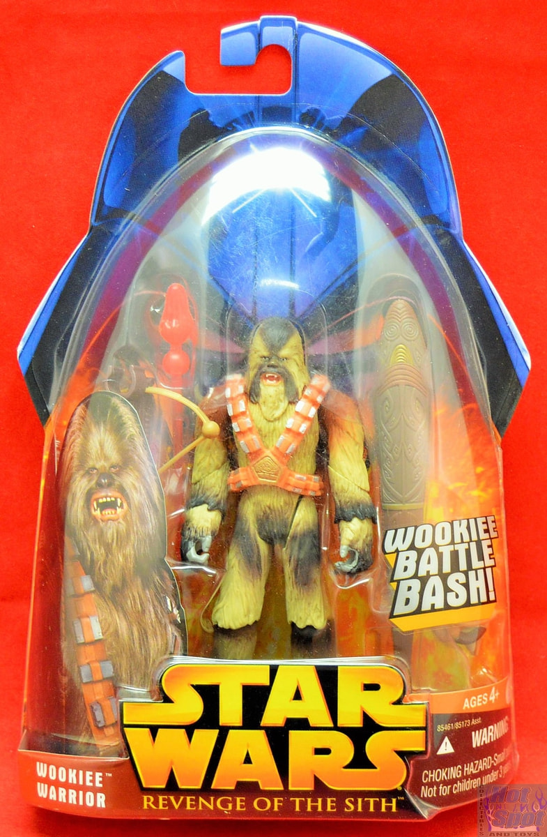 Hot Spot Collectibles And Toys Revenge Of The Sith Wookie Warrior Action Figure